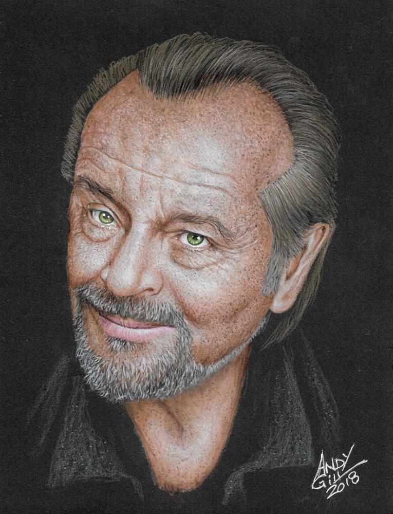 Jack Nicholson por AndyGill